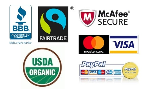 Increase perceived value by using third party trust symbols such as Paypal certified, USDA organic, Mcaffee security etc.