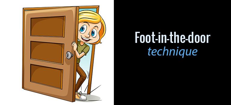 What Is Foot In The Door Technique Convertica
