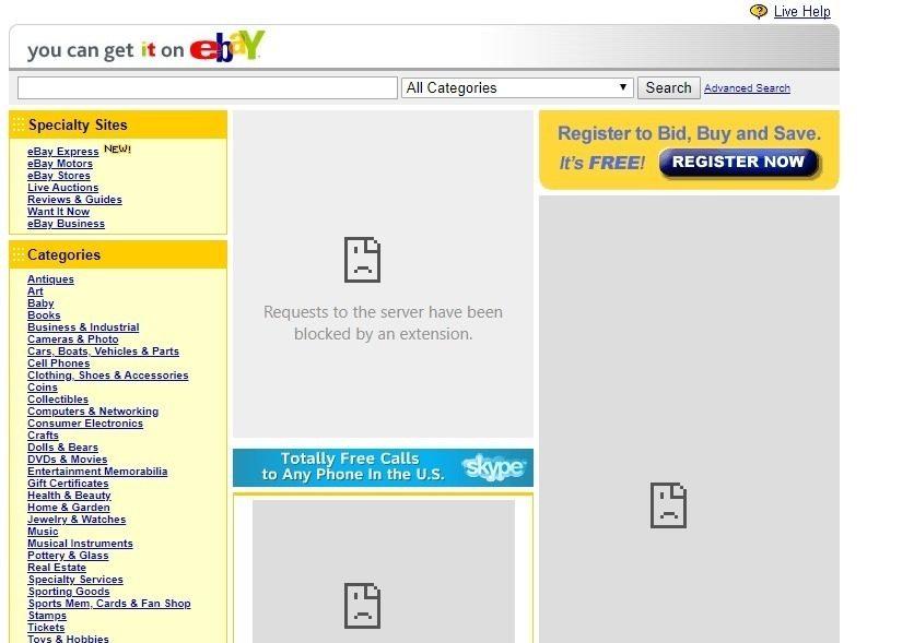 yellow eBay
